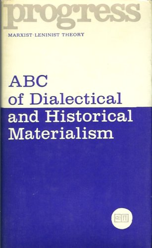 9780828501880: Abc of Dialectical and Historical Materialism