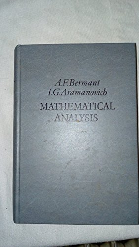 9780828507301: Mathematical Analysis
