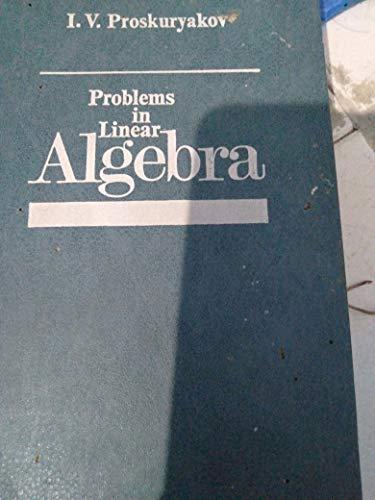 9780828507400: Problems in Linear Algebra