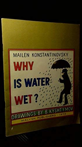 9780828515771: Why is Water Wet