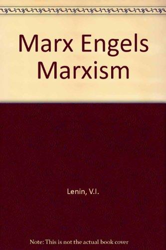 9780828521949: Marx Engels Marxism