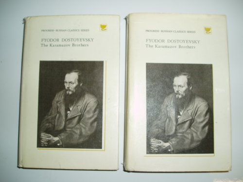 9780828522441: The Karamazov Brothers: A Novel in Four Parts With an Epilogue in Two Volumes