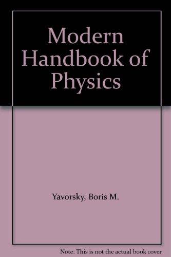 9780828523721: Modern Handbook of Physics