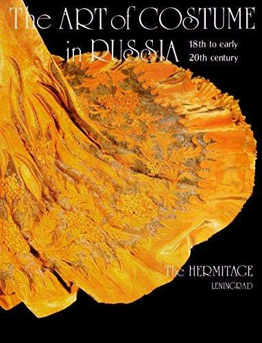 9780828527521: The Art of Costume in Russia: 18th to Early 20th Century