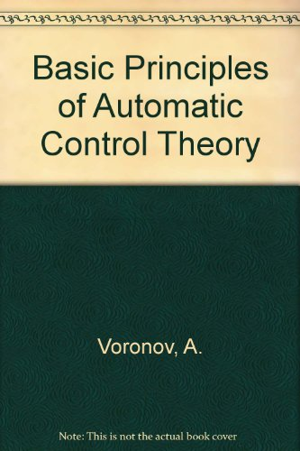 9780828529853: Basic Principles of Automatic Control Theory