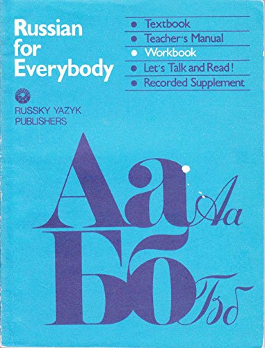 9780828530002: Russian for Everybody: Workbook