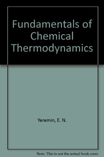 9780828532136: Fundamentals of Chemical Thermodynamics