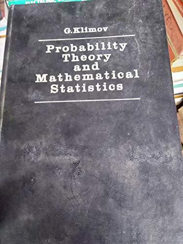 9780828532143: Probability Theory and Mathematical Statistics