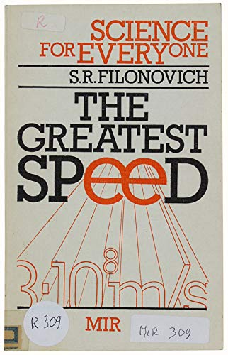 9780828533003: The Greatest Speed (Science for Everyone)