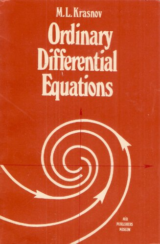 9780828534444: Ordinary Differential Equations