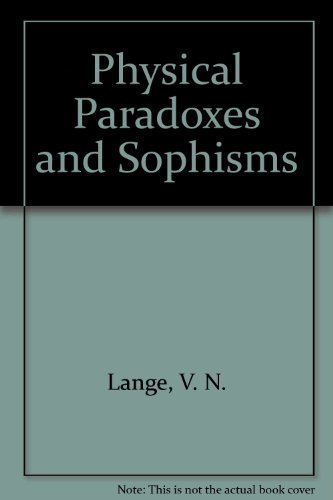 9780828535816: Physical Paradoxes and Sophisms (Science for Everyone)