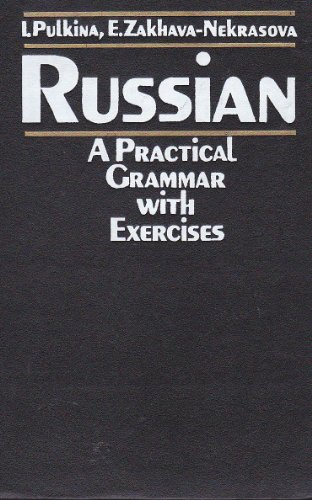 9780828549936: Russian: A Practical Grammar with Exercises