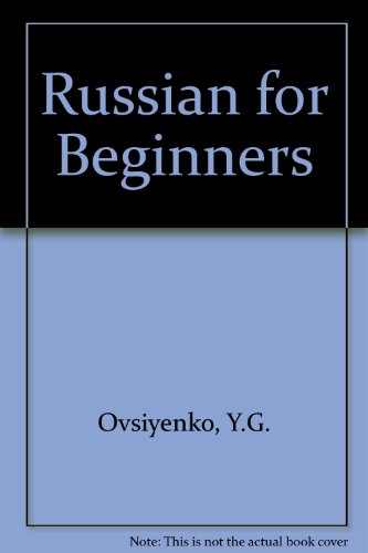9780828549998: Russian for Beginners (English and Russian Edition)
