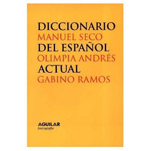 9780828801744: Diccionario del Espanol Actual, 2 Volumes