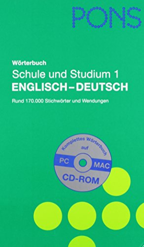9780828803380: Pons Global Dictionary English German: Pons Global Woerterbuch Klett Englisch Deutsch