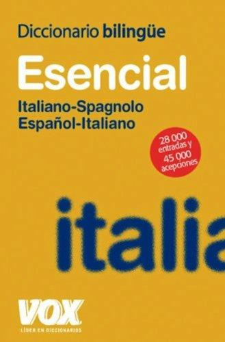 9780828803793: Diccionario Esencial Espanol - Italiano / Italiano - Espanol : Dizionario Spagnolo - Italiano / Italiano Spagnolo (Spanish and Italian Edition)