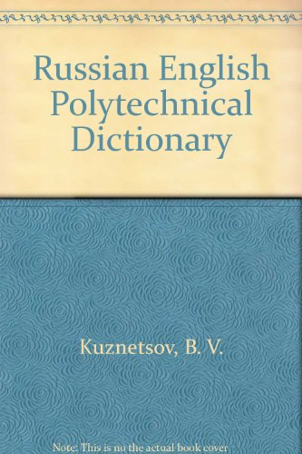 9780828806602: Russian English Polytechnical Dictionary