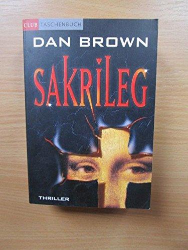 9780828815130: Sakrileg ( German edition of The Da Vinci Code )