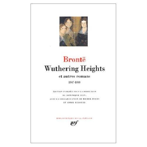 9780828816380: Wuthering Heights et Autres Romans (Bibliotheque de la Pleiade)