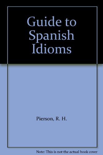 9780828823296: Guide to Spanish Idioms