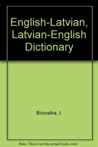 9780828824873: English to Latvian Dictionary