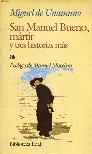 9780828825795: San Manuel Bueno Martir Y Tres Historias Mas