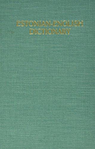 9780828826310: Estonian to English Dictionary (English and Estonian Edition)