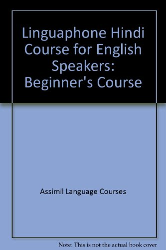 9780828832731: Linguaphone Hindi Audiocassette Course for English Speakers: Beginner's Course (10 cassettes and books)