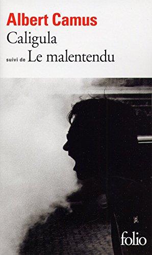9780828836616: Caligula suivi de le Malentendu (French Edition)