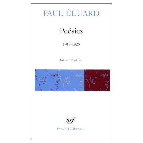 Poesie / 1913 1926: Eluard, Paul