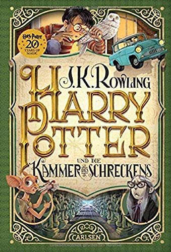Harry Potter und die Kammer des Schreckens (German Edition of Harry Potter and the Chamber of ...