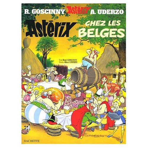 9780828849319: Asterix Chez les Belges (French Edition of Asterix in Belgium)