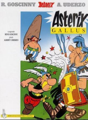 9780828849418: Asterix Gallus (Latin Edition)