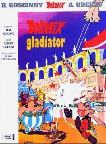 9780828849432: Asterix Gladiator Latin Edition
