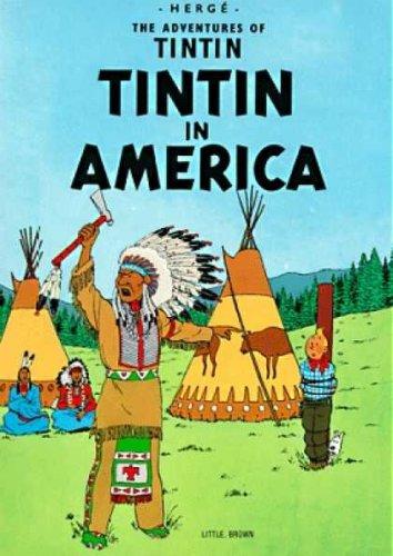 9780828850001: The Adventures of Tintin: Tintin in America