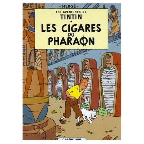 9780828850209: Les Aventures de Tintin / Les Cigares du Pharaon (Book and DVD Package)