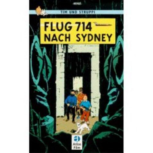 9780828850353: Adventures of Tintin: Flug 714 nach Sydney (German Edition of Flight 714)
