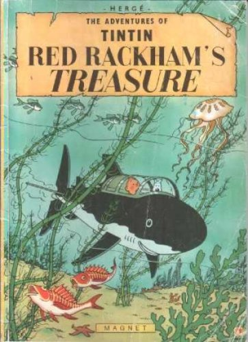 9780828850575: Red Rackham's Treasure (Adventures of Tintin)