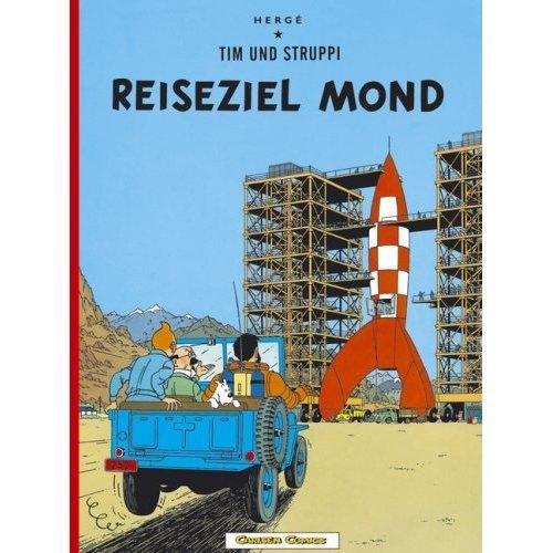 9780828850599: Adventures of Tintin: Reiseziel Mond (German Edition of Destination Moon)