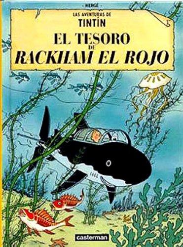 9780828850827: The Adventures of Tintin: Il Tesoro di Rakam (Italian edition of