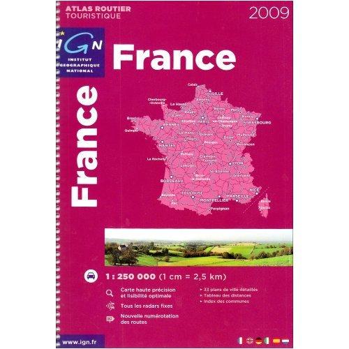9780828861991: Michelin Road Atlas France