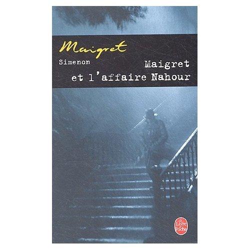 9780828866149: Maigret et l'Affaire Nahour