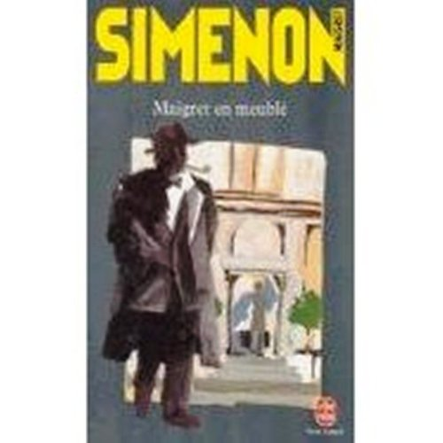 9780828868105: Maigret en Meuble (French Edition)