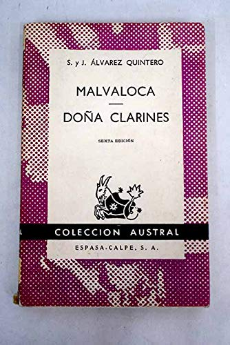 9780828871068: Malvaloca Dona Clarines