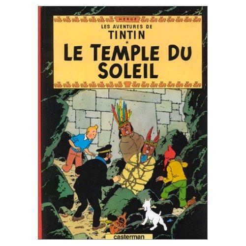 9780828873413: Les Aventures de Tintin : Les Sept Boules de Cristal and le Temple du Soleil (French edition of The Seven Crystal Balls and The Temple of the Sun) : 2 Books and DVD Package