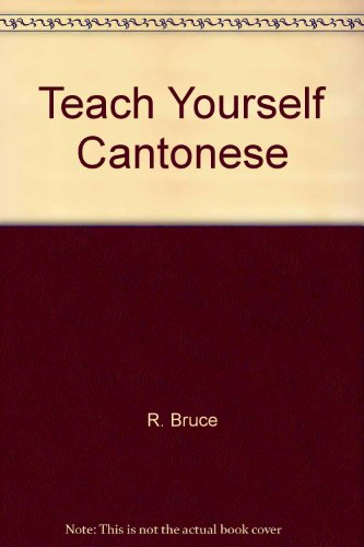 9780828883061: Teach Yourself Cantonese