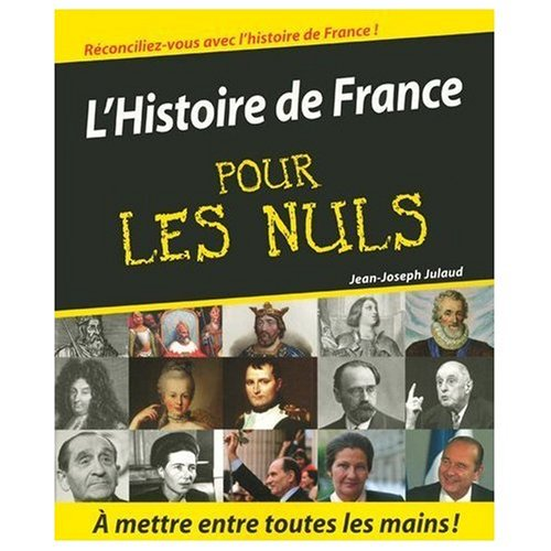 9780828884242: L'Histoire de France pour les Nuls (History of France for Dummies) (French Edition)