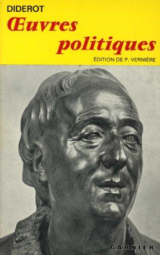 Oeuvres Politiques (French Edition): Denis Diderot