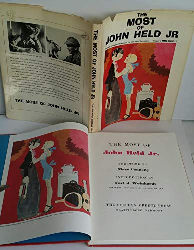 The Most of John Held Jr: Held, John & Carl J. Weinhardt (Intro) & Marc Connelly (Foreword)