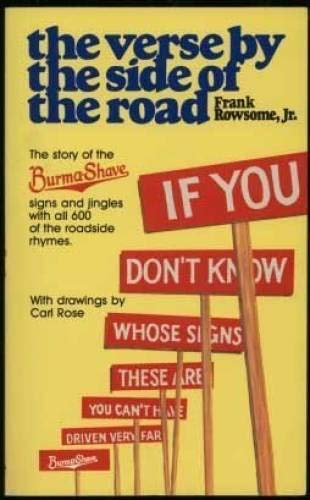 9780828903516: The Verse by the Side of the Road: The Story of the Burma-Shave Signs and Jingles